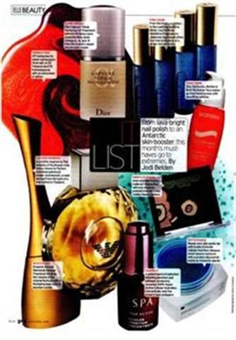 Elle Magazine Loves Lava-Bright Polish