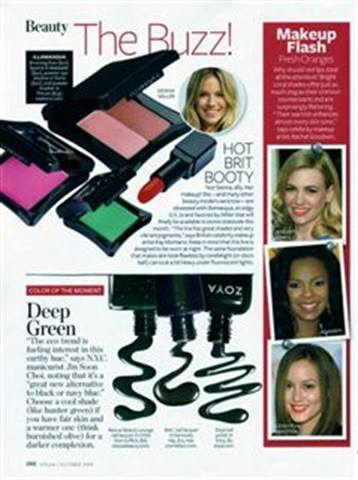 Green Polish Up in Popularity
