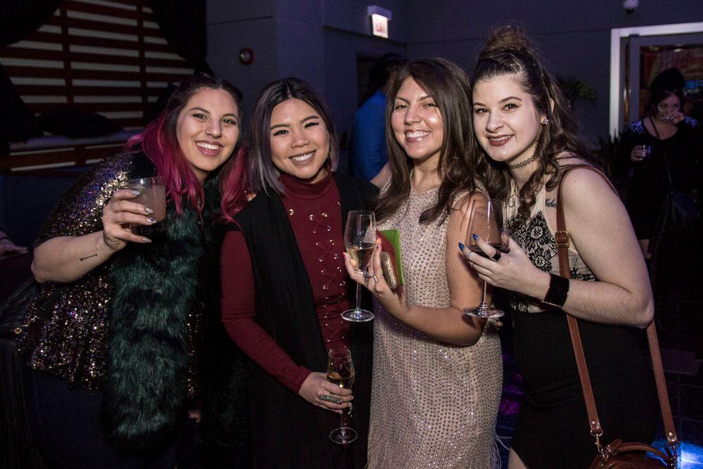 """<p>Ellegra Davis, Winnie Huang, Beth Livesay, and Carly Snyr (<em>Photo courtesy of <a href=""""http://www.riochavezphotography.com"""">Rio Chavez photography</a></em>)</p> <p></p>"""