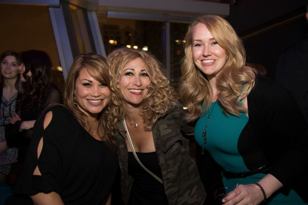 "<p>Alisha Rimando Botero, NAILS art director Danielle Parisi and Shannon Rahn (<em>Photo courtesy of <a href=""http://www.riochavezphotography.com"">Rio Chavez photography</a></em>)</p>"