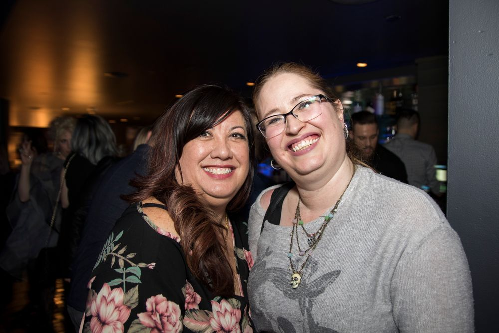 "<p>Maeling Parrish and Sandy Borges Combs<em> (Photo courtesy of <a href=""http://www.riochavezphotography.com"">Rio Chavez photography</a><em>)</em><br /></em></p> <p> </p>"