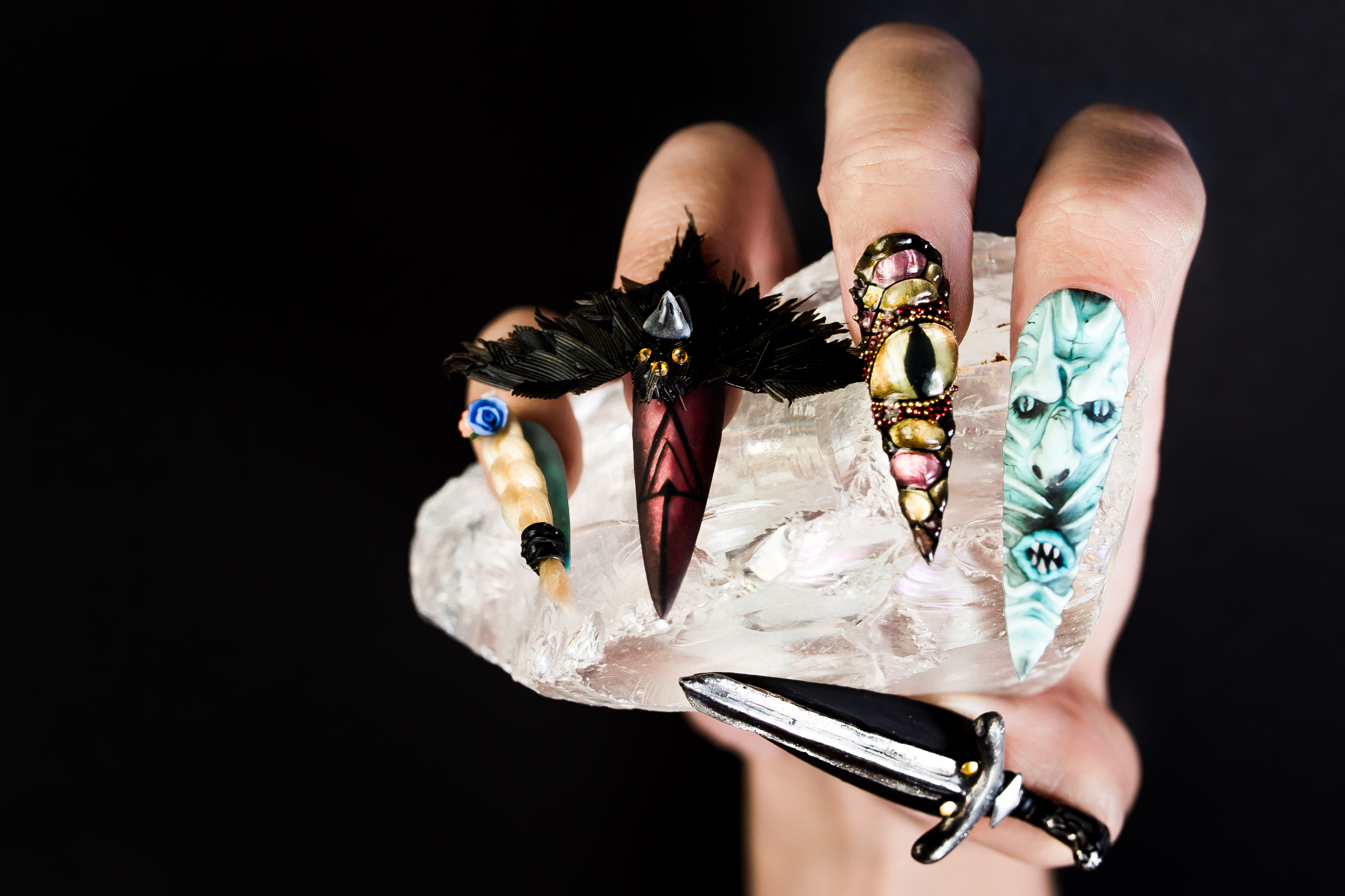 Day 125: Epic Game of Thrones Nail Art