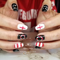 Day 181: Lifeguard Nail Art