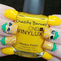 Day 184: Cool Pineapple Nail Art
