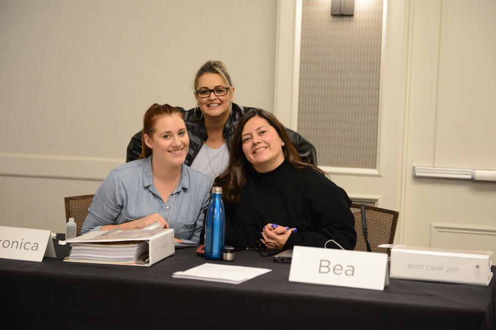 <p>CND event team: Veronica, Ozzie and Brea</p>