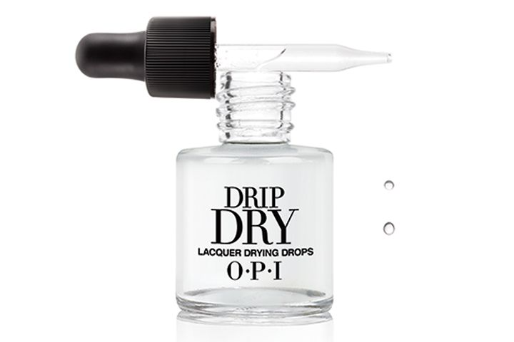 <p><strong>FAVORITE POLISH DRYING PRODUCT</strong><br />1. OPI Products: Drip Dry Lacquer Drying Drops<br />2. CND: Solar Speed Spray<br />3. NSI: Airshield<br />4. China Glaze: Fast Freeze Quick Dry<br />5. Essie Cosmetics: Quick-e Drying Drops</p>