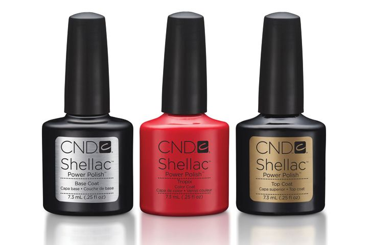 <p><strong>FAVORITE POLISH (GEL-POLISH OR UV-CURED POLISH)</strong><br />1. CND: Shellac<br />2. Hand &amp; Nail Harmony: Gelish Soak-Off Gel-Polish<br />3. OPI Products: GelColor by OPI<br />4. Young Nails: ManiQ Color<br />5. Entity Beauty: One Color Couture Gel Enamel</p>