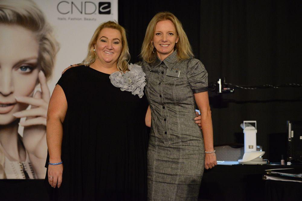 <p>CND EAs Cherie Pollard &amp; Amanda Fontanarrosa</p>