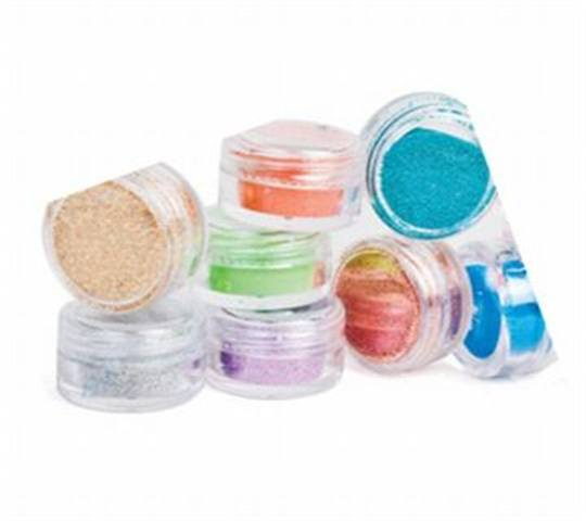 Bright Glitter Dust Collection