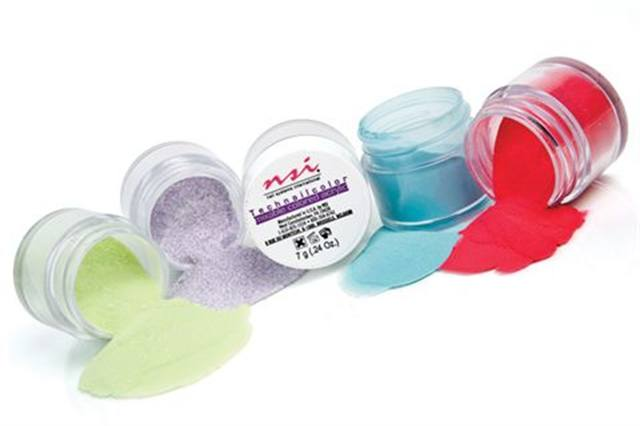 Colored Acrylic Powders