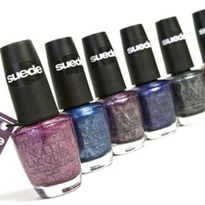 Suede Finish Nail Lacquer Shades