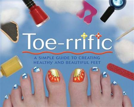 Toenail art book style nails magazine toe rrific toenail art book is a new updated guide to creating beautiful and healthy feet this innovative book has step by step pedicure advice and lots prinsesfo Image collections