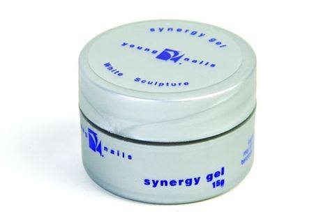 Young Nails White Sculpture Gel Is A Bright Clean Pure Formulated To Cure Rock Hard With 9 Watt Bulb The Self Levels Smooth