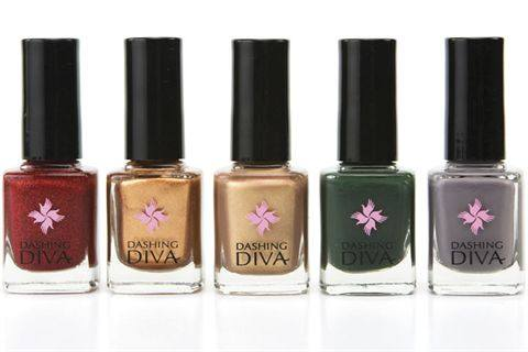 Dashing Diva's Manhattan Collection of nail polish comes just in time for the fall. Inspired by the Big Apple, the shades offer a nice sampling of gold, ...