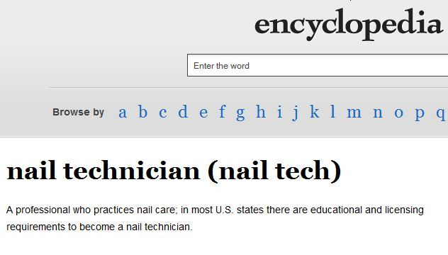<p><strong>1988</strong>: The word <em>nail technician</em> became commonly used to replace <em>manicurist</em>.</p>