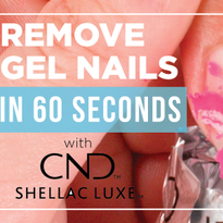 How to Remove CND Shellac Luxe Gel Nails in 60 Seconds