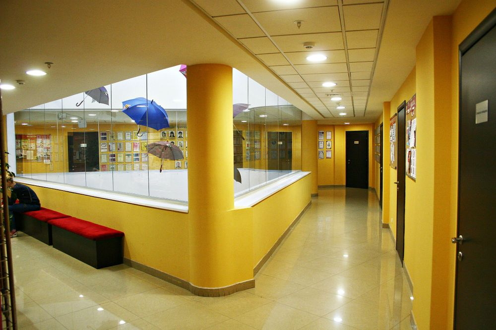<p>Aspiring nail techs learn at this educational center at OleHouse.</p>
