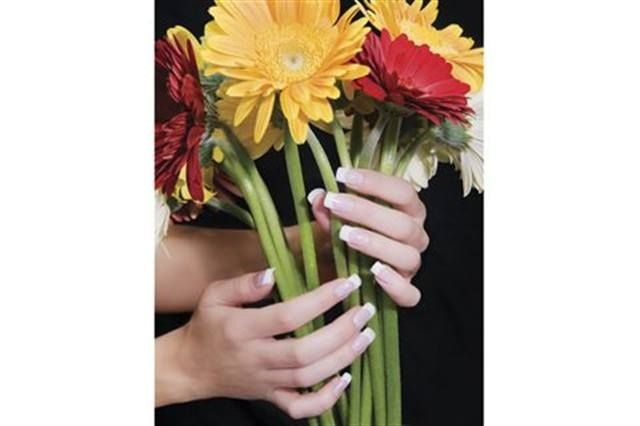 <p>2008: &ldquo;I chose daisies because I wanted something in my pictures that resembles beauty, since that&rsquo;s what I&rsquo;m creating each day on my clients,&rdquo; said Kali Howden (Nail Enhancement Technician of the Year).</p>