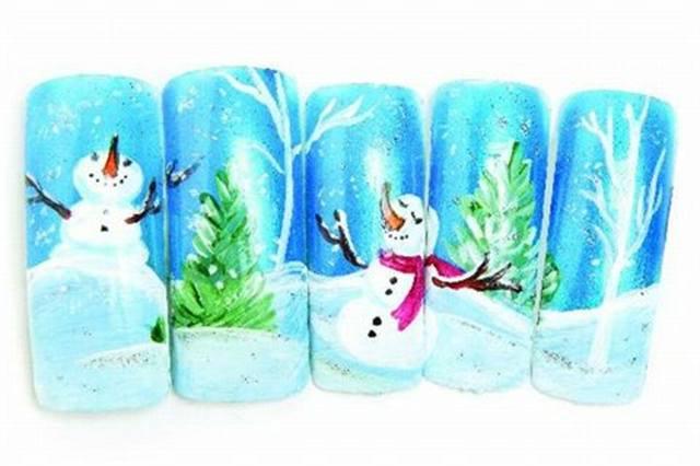 <p>2006: &quot;Winter Wonderland&quot; by Karen Meyer, Wingate, N.C.</p>