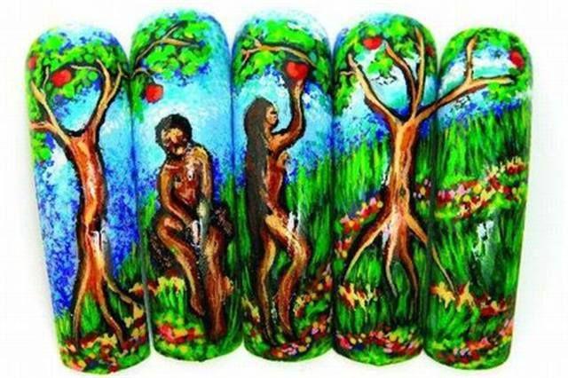 <p>2006: &quot;Adam &amp; Eve in Paradise&quot; by Maritza Avila Negron, Toa Baja, Puerto Rico</p>