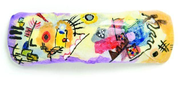 <p>3rd Place</p> <p>Emily Hansen</p> <p>Davenport, Iowa</p> <p>&ldquo;Yellow-Red-Blue&rdquo; by Kandinsky</p>