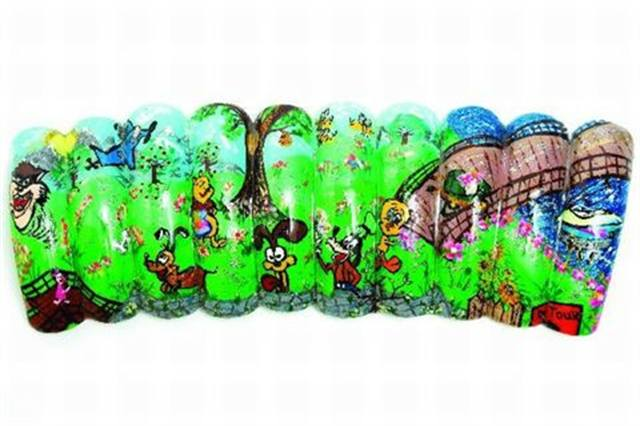 <p>2006: &quot;Cartoon World&quot; by Jennifer Dinh, Brooklyn, N.Y.</p>