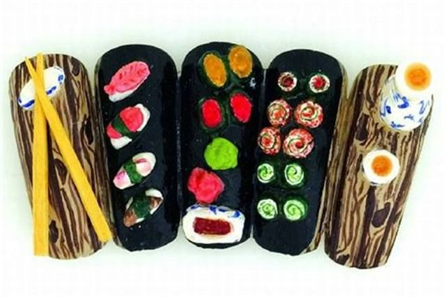 <p>2004 1ST PLACE: &quot;Sushi for One&quot; by Kathleen M.M. Wood, Pleasant Valley, N.Y.</p>
