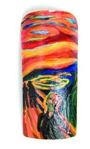 <p>Honorable Mention</p> <p>Vickie Chilla</p> <p>Eustis, Fla.</p> <p>&ldquo;The Scream&rdquo; by Edvard Munch</p>