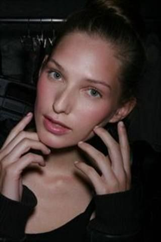 <p>The Charlotte Ronson show featured classically sheer nails in a sheer beige by Milani called Creme Brulee. <em>Photography by Edward James, FashionWatch.</em></p>