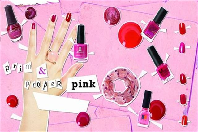 Perfect for a holiday cocktail party or to add a  pinch of color to fall's somber tones, pink is a playful hue for the young and young at heart. Try a creamy pale pink when the weather turns cooler, or a bright fuchsia to add sizzle to the little black dress.