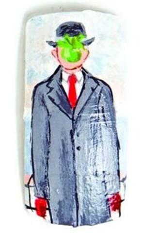 <p>Entry</p> <p>Brenda Baker</p> <p>Mustang, Okla.</p> <p>&ldquo;The Son of Man&rdquo; by Rene Magritte</p>