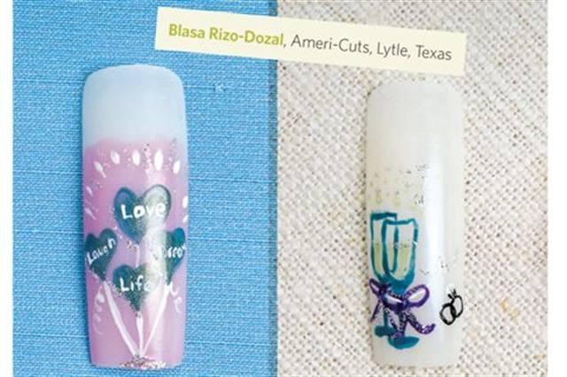<p>Nails by Blasa Rizo-Dozal, Americ-Cuts, Lytle, Texas</p>