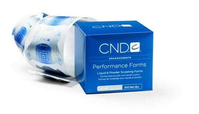 <p><strong>Favorite Forms</strong></p> <p>1. CND: Performance Forms </p> <p>2. OPI Products: FreeForms Disposable Nail Forms </p> <p>3. Tammy Taylor Nails: Competitive Edge Forms </p> <p>4. EZ Flow: Perfect C Curve Form </p> <p>5. Young Nails: Artistic Forms </p>