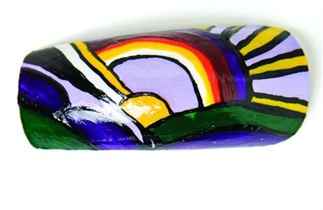 <p>Entry</p> <p>Jana Burns</p> <p>Pensacola, Fla.</p> <p>&ldquo;Modern Painting of Sun Rays&rdquo; by Roy Lichtenstein</p>