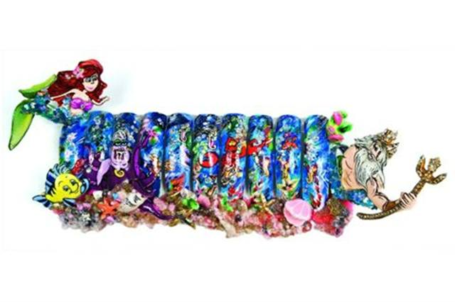 """2008 2ND PLACE:Jennifer Dinh of Brooklyn, N.Y., titled her """"Little Mermaid""""-inspired design """"Classic at its Best."""""""