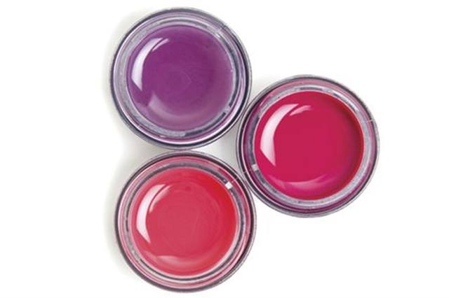 """<p><a href=""""http://www.kineticsnails.com""""><strong>Kinetics&rsquo; </strong></a>Spring Gel Line is called Flowers and Clouds. The high-performance gels come in six shades for spring and include Secret Garden, Rose Rose, and Vertigo (shown here).</p>"""