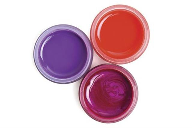 """<p><a href=""""http://www.lightelegance.com""""><strong>Light Elegance&rsquo;s</strong></a> new spring line of color gels are themed with chance, with witty colors Take a Risk Rachel, Get Lucky Lavender, and Lady Luck Fuchsia shown here.</p>"""