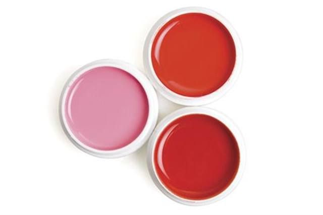 """<p><strong><a href=""""http://www.nailiteinc.com"""">Nailite&rsquo;s</a> </strong>Color Gels always are in style, with a nice variety of pinks and soft pastels. The spring line includes colors shown here &mdash; Sunset, Pinkini, and Tangerine.</p>"""