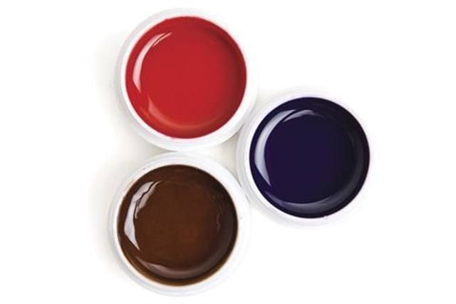 """<p><a href=""""http://www.youngnails.com""""><strong>Young Nails&rsquo; </strong></a>Kaleidoscope Gel Paints offer excellent coverage and durability over a range of colors. The gels are saturated with color to make them pop and stand out on nail beds.</p>"""
