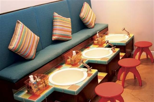 <p>DAY OF (AS GUESTS LEAVE)</p> <p>&gt; Turn down the music.</p> <p>&gt; Turn off themed movies.</p> <p>&gt; Welcome non-party guests to the salon.</p>