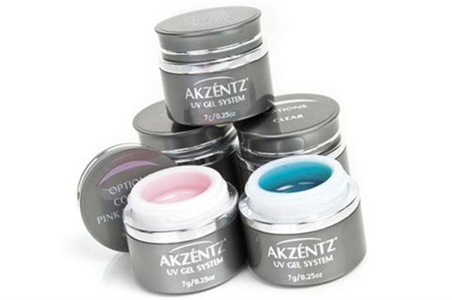 <p><strong>Akzentz</strong> Options Soak-Off UV Gels are odorless and durable, and are easily removed with acetone or other remover. The gels leave nails looking and feeling natural, and they are made from an innovative material to offer superior strength. &nbsp;<br /><strong>www.nailsmag.com/fifi/80291</strong></p>