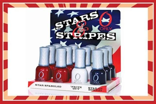 <p><strong>FAVORITE NEW PRODUCT</strong><br /><br />5.&nbsp;&nbsp;&nbsp; Orly: Star Spangled <br />&nbsp;&nbsp;&nbsp;&nbsp;&nbsp;&nbsp; Nail Lacquer</p>