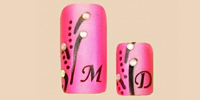 mother-daughter nail art - style