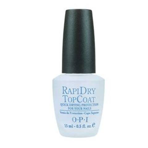 <p><strong>Favorite Top Coat</strong></p> <p>1. OPI Products: Rapid Dry TopCoat </p> <p>2. Seche Inc.: Seche Vite </p> <p>3. INM: Out the Door </p> <p>4. CND: Air Dry </p> <p>5. Essie: Good to Go!</p>