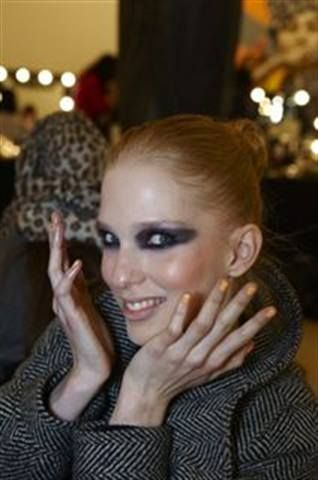 <p>At London Fashion Week, nubar&rsquo;s Orange Cr&egrave;me brightened up the models&rsquo; tips in Look Magazine&rsquo;s show.</p>