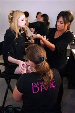 <p>Led by nail tech Pattie Yankee, the Dashing Diva team painted the nails of Erin Fetherston&rsquo;s models with the company&rsquo;s Trust Fund polish.</p> <p><em>Photography by Alexei Nemchenko</em></p>