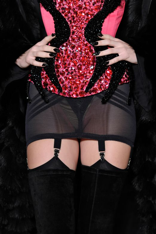 <p>New York, NY - February 12: CND for The Blonds Fall/Winter 2014 (Photo by Arun Nevader/Getty Images for CND)</p>
