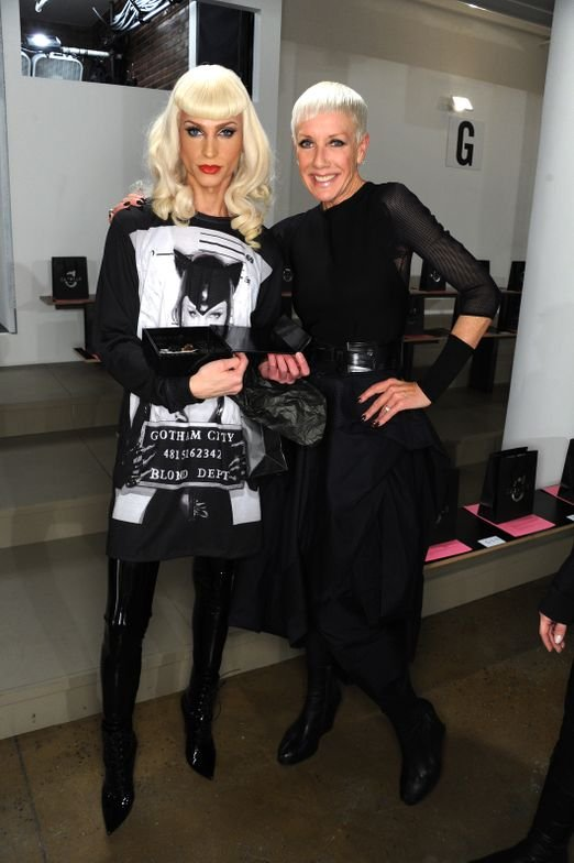 <p>New York, NY - February 12: CND for The Blonds Fall/Winter 2014 (Photo by Jennifer Graylock/Getty Images for CND)</p>