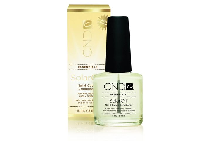 <p><strong>FAVORITE CUTICLE TREATMENT</strong><br />1. CND: SolarOil<br />2. OPI Products: Avoplex Cuticle Oil To Go<br />3. Hand &amp; Nail Harmony: Gelish Nourish Cuticle Oil<br />4. Famous Names: Dadi Oil 95% Certified Organic Nail and Skin Treatment Oil<br />5. Young Nails: Rose Cuticle Oil</p>