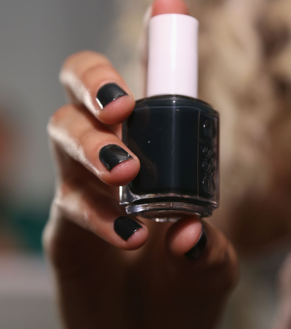 <p>Julie Kandalec used Essie Stylenomics for Rag &amp; Bone</p>